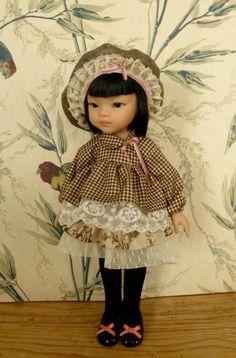 """""""So British"""" Frous-Frous: Vêtements de poupée de 32 à 33 cm (Chéries de Corolle, et Paola Reina Amigas) : Jeux, jouets par minacouture"""