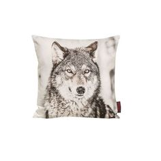 Kissenhülle Wilderness Wolf Home24 ($14) found on Polyvore featuring home and home decor