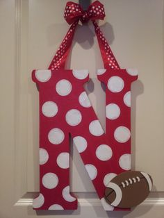 Husker N door decor we need this for our apt!!
