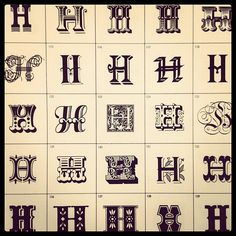 I NEED TO FIND THIS Encyclopedia of Comparative Letterforms <3