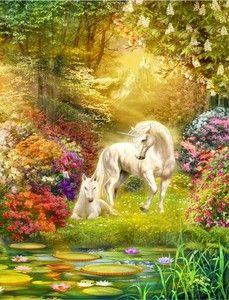 Enchanted Garden Unicorns by Jan Patrik Krasny - Google Search