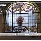 Vitrales y lamparas Tiffany a pedido, Restauración de vitrales. Diseños exclusivos.