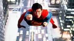 Superman The Movie Vintage Movie Poster Man of Steel Christopher Reeve DC Comics Superheroes Superhero