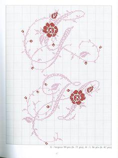 Gallery.ru / Фото #71 - belles lettres au point de croix - moimeme1