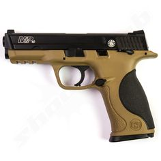 Smith and Wesson M&P40 TS FDE Blowback CO2 Pistole im Kaliber 4,5mm Stahl BBs    - Vollmetall - Find our speedloader now!  www.raeind.com  or   http://www.amazon.com/shops/raeind