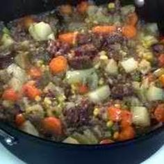 Major's venison stew