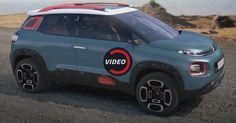 Citroen's New C-Aircross Concept Looks The Part #Citroen #Citroen_Concepts