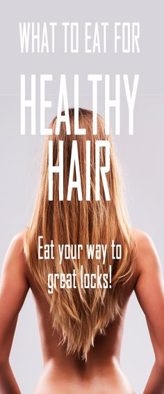 What to eat for healthy hair. #beautytips #healthyhair #beautysecret #hairgrow