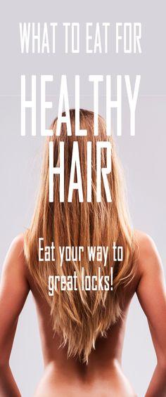 What to eat for healthy hair. #beautytips #healthyhair #beautysecret #hairgrow