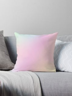 e3f68585a4192 'Unicorn | Magic | Pastel Hologram Pattern Eight' Throw Pillow by  Alice-Mills