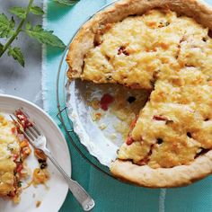 Old-fashioned Tomato Pie - Savory Tomato Pie Recipes - Southern Living