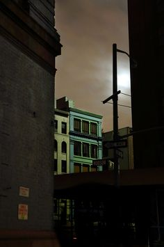 "Christophe Jacrot, ""NYB Full Moon"", from series ""New York in Black"" Dark Photography, Street Photography, Landscape Photography, Night Photography, Pulp Fiction, Christophe Jacrot, Tamara Lempicka, Comics Illustration, Illustrations"