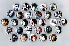 My Chemical Romance Set of 29 One Inch Pin Back by Ephelant