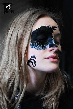 facepainting by czech artists Tanaki