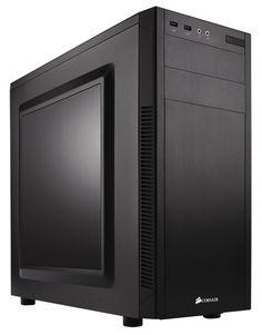 Corsair Carbide Series Silent Mid-tower ATX Computer Case - B for sale online Computer Workstation, Computer Case, Gaming Computer, Pc Cases, Windows 10, Quad, Gaming Pc Build, Drive Bay, Mini Itx