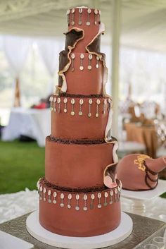 African Traditional Wedding Dress, Traditional Wedding Decor, Traditional Cakes, Traditional Design, Traditional Dresses, Themed Wedding Cakes, Unique Wedding Cakes, Wedding Cake Designs, African Wedding Cakes