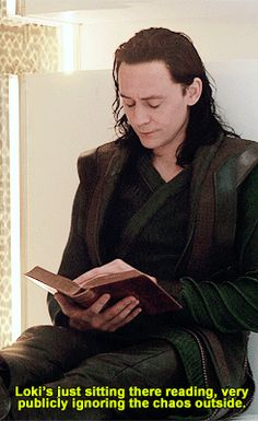 "jossisgod: """"Thor The Dark World - Commentary by Tom Hiddleston "" Who can read THAT fast? """