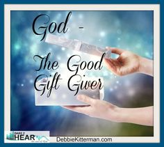 "Every good and perfect gift is from above, coming down from the Father of the heavenly lights, who does not change like shifting shadows"" (James 1:17 NIV). I'm a GIFTS Person!  I love to give gifts..."