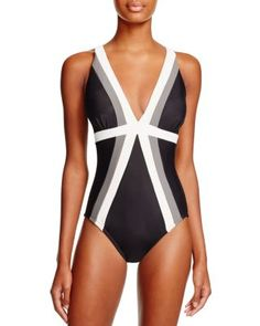 7cfbaf6b9df3 Miraclesuit Spectra Trilogy One Piece Swimsuit Women - Swimsuits   Cover-Ups  - Bloomingdale s