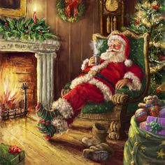 Is Santa going to make all the deliveries before the Sun rises? I'm sure he will! Marcello Corti - XM1434.jpg