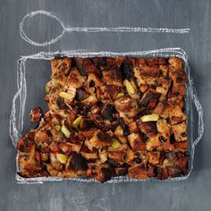 Cranberry-Pecan Bread Pudding with Bacon | Food & Wine . A good loaf of cranberry-nut bread from a bakery has so much flavor that there's no need to trick it up with lots of ingredients. As the pudding bakes, the bread becomes almost custardlike, with a crispy brown top.