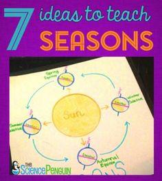 7 Ideas to Teach Seasons