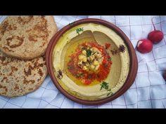 המתכון לחומוס המושלם עם כל כמויותיו וסודותיו עם מקס מלכיאל الحمص Perfect Hummus - YouTube Jewish Recipes, Food N, Dips, Vegetarian Recipes, Vegan, Cooking, Breakfast, Ethnic Recipes, Jewish Food