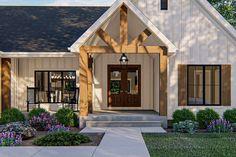 Modern Farmhouse Exterior, Farmhouse Style, Farmhouse Bedrooms, Farmhouse Kitchens, American Houses, Craftsman House Plans, Modern Craftsman, Craftsman Kitchen, Craftsman Style