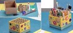 ideas+para+reutiliza+carton+organizador+de+accesorios+y+material+de+oficina+con+caja+de+carton+y+rollos+de+papel.jpg (820×382)