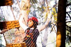 Веревочный парк в Парке Приключений