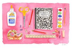 This time of year makes me think of the excitement of getting ready for the first day of school, checking all of my supplies off the list... Posted by Caitlin McGauley.