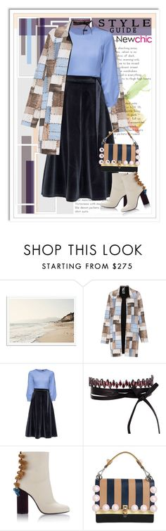 """new chic in winterday"" by wanndan-anggita ❤ liked on Polyvore featuring Norma Kamali, Lattori, Fallon and Fendi"