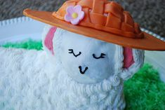 How to make a lamb cake recipe and step-by-step photos and instructions