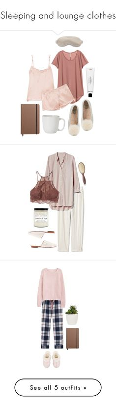 """Sleeping and lounge clothes"" by katie-moro ❤ liked on Polyvore featuring Equipment, Frédéric Malle, UGG, Shinola, Juliska, Slip, interior, interiors, interior design and home"