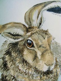 chiller's hare painting four of six