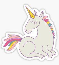 Unicorn Pegatina