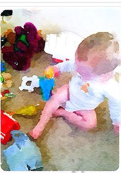 """Toys"" Liam 10 months 10/2014"