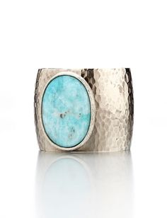turquoise cuff bracelet by hester
