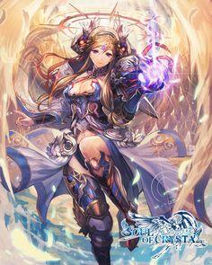 アテナ  ゲームアプリの【ソウルオブクリスタル】にて描かせて頂いたイラストとなります。 防具デザインが気に入っております。  Athena  It becomes an illustration that I drew at [Soul of Crystal] of the game application. I like armor design.
