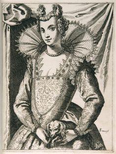 ab. 1591-1609 Giacomo Franco - Habiti delle donne venetiane (Costumes of Venetian Women)
