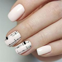 """If you're unfamiliar with nail trends and you hear the words """"coffin nails,"""" what comes to mind? It's not nails with coffins drawn on them. It's long nails with a square tip, and the look has. Classy Nails, Cute Nails, Pretty Nails, My Nails, Classy Nail Designs, Acrylic Nail Designs, Spring Nail Colors, Spring Nails, Square Acrylic Nails"""