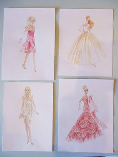 barbie drawings