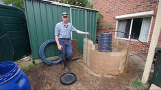 Compost Heater - Permaculture: Our Urban Design Part 6 Get Off The Grid, Outdoor Baths, Square Foot Gardening, Diy Greenhouse, Sustainable Energy, Green Garden, Alternative Energy, Survival Prepping, Aquaponics