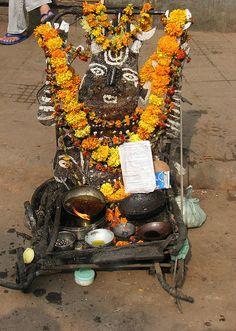 interesting altar in india