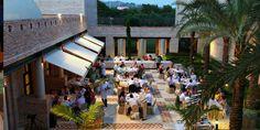 Wedding meal at Baraka Restaurant at the Vincci Estrella del Mar Hotel in Marbella