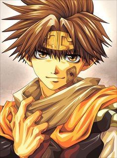 Son Goku [Saiyuki]  • Anime fanart by Morrow from Pixiv.