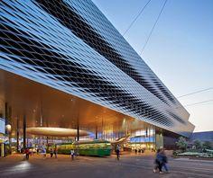Messe Basel New Hall / Herzog & de Meuron, by Hufton + Crow - Switzerland