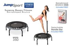 Get fit with a personal fitness trampoline from JumpSport. The fitness trampoline choice of professionals. Get your fitness trampoline today and start bouncing. Barre Workout, Toning Workouts, Workout Body, Best Abdominal Exercises, Trampoline Workout, Suzanne, Weight Loss Blogs, Belly Fat Workout, Tummy Workout