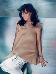 Scandalous Beauty: Actress Kerry Washington by Ruven Afanador for Flare Magazine, October 2013