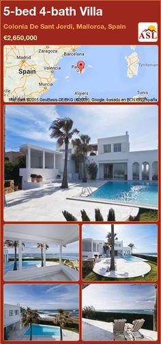 5-bed 4-bath Villa in Colonia De Sant Jordi, Mallorca, Spain ►€2,650,000 #PropertyForSaleInSpain